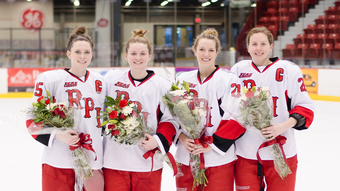 Women's Hockey vs. Harvard - Senior Night