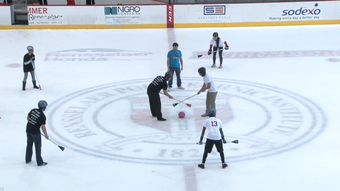 Senate vs. E-board Broomball