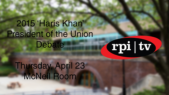 2015 'Haris Khan' President of the Union Debate